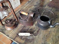 Peças de ferro antigas pra decorar