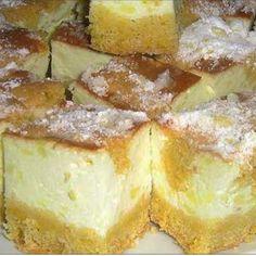 Hamis túrós, ez valami fantasztikus! Hungarian Desserts, Hungarian Recipes, Torte Cake, Winter Food, No Bake Cake, Dessert Recipes, Food And Drink, Cooking Recipes, Yummy Food