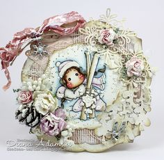 DeeDee´s Card Art: ♥ Live & Love Crafts DT - Pion Design's new Days of Winter ♥