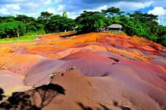 Chamarel Village : Home to the Seven Colored Earth