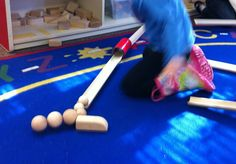 Ramps and Pathways...   We started our exploration of ramps and pathways in Pre-K today by reading Roll, Slope and Slide: A Book About Ramps...