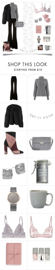 """17.12.2016"" by emilydeme on Polyvore featuring Brandon Maxwell, Warehouse, Balenciaga, GUESS, Gianvito Rossi, Valentino, Kate Spade, Major Moonshine, Juliska and Bynd Artisan"
