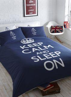 Keep Calm Sleep On Bed Set