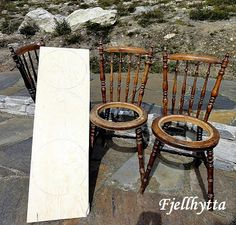 Fjellhytta interiør- og hytteblogg Rocking Chair, Norway, Bar Stools, Cottage, Mountains, Furniture, Home Decor, Chair Swing, Bar Stool Sports