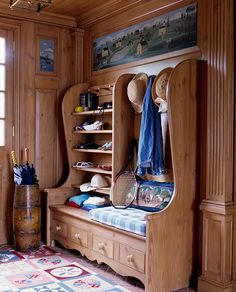 For the cabin foyer