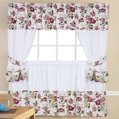 5 Piece Kitchen Curtain Set