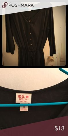 New Mossimo romper Brand new with tags black Mossimo romper size XS. Open to trades Mossimo Supply Co Other