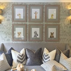 Sophie Paterson Interiors #closeup of the #nursery at o...