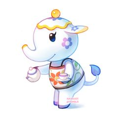 tia the teacup elephant :3