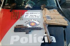 #Polícia: Policiais Militares de São José dos Campos prendem criminoso que fabricava armas para o crime