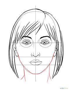 Ein Gesicht zeichnen – wikiHow