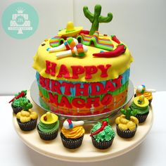Mexican Fiesta Cake 2013
