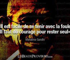 Mahatma Gandhi (Courage)