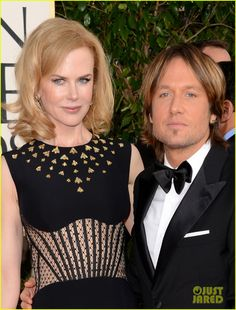 Nicole Kidman & @Keith Urban  - Golden Globes 2013 Red Carpet