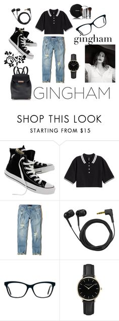 """Bez naslova #176"" by selma-97 ❤ liked on Polyvore featuring Converse, Hollister Co., Sennheiser, ROSEFIELD and Chanel"