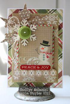 Peace & Joy - Scrapbook.com