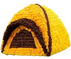 Camping Pinata. Very cool website as well. Lots of neat stuff!
