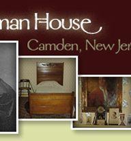 The Walt Whitman House in Camden, New Jersey