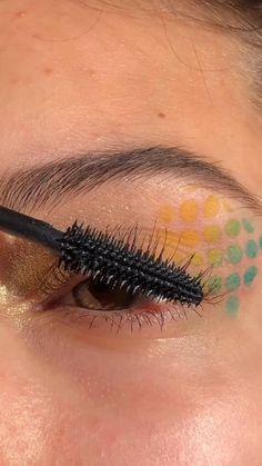 Creative Eye Makeup, Unique Makeup, Colorful Eye Makeup, Cute Makeup, Pretty Makeup, Natural Makeup, Prom Makeup, Hazel Eye Makeup, Makeup Eye Looks