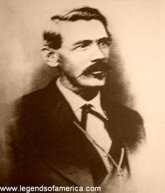 John Chisum -- A cattle baron who moved longhorn herds from Texas into New Mexico in the mid 1800's,