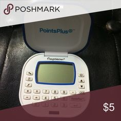 Weight watches calculator points plus Great tool to have if you want to do weight watchers Other