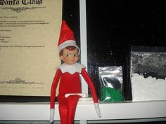 East Coast Mommy: Magic Elf Seeds... delivered by our Elf on the Shelf.  What a neat idea!