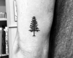 Awesome Small Tree Tattoo - Best Simple Tattoos For Men: Cool Small Tattoo Desig. - Awesome Small Tree Tattoo – Best Simple Tattoos For Men: Cool Small Tattoo Designs and Ideas For - Simple Tree Tattoo, Tree Tattoo Back, Tree Tattoo Men, Tree Tattoo Designs, Small Tattoo Designs, Small Tattoos Men, Small Tattoos With Meaning, Trendy Tattoos, Cool Tattoos
