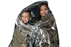 Outdoor Emergency Solar Blanket Survival Safety Insulating Mylar Thermal Heat HS