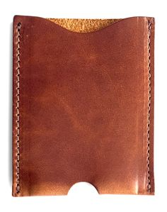 19cdeece26e Front Pocket Wallet Card Holder Made of Full Grain Leather - Jackson Wayne  Leather Goods
