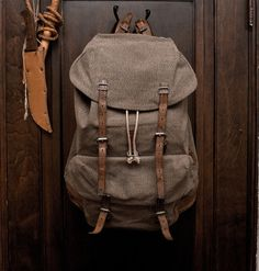 If I were going to use a backpack