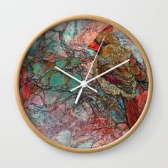 "Available in natural wood, black or white frames, our 10"" diameter unique Wall Clocks feature a high-impact plexiglass crystal face and a…"