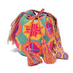 Authentic Wayuu Bag or Wayuu Mochila Bag. by loveandlucky on Etsy, $120.00