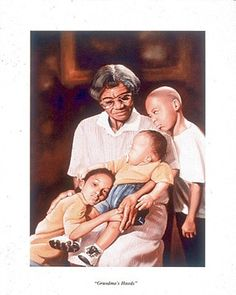 Grandma's Hands   Silver gray hairs neatly combed in place, there were four generations of love on her face. She was wise, no surprise...