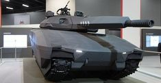 Poland's future stealth tank has infrared camouflage … and a screen door. I know I know! Bad joke!