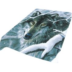 The Wolf G274 is the softest, brightest, and plushest printed blanket on the planet. Can be used at the game, on a picnic, in the bedroom, or cuddle under it in the den while watching TV. These blankets are extra warm, as soft as mink and have superior durability. Made of an acrylic blend.Easy Care, machine wash and dry. Queen Size approx. 200x240 cm or 79x95 in. Buy online www.TheBlanketCompany.com or Call at (801) 280-6200.