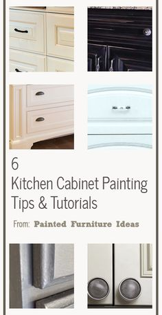 6 Kitchen Cabinet Painting Tips & Tutorials