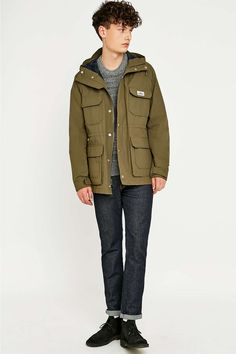Fred perry shearling parka
