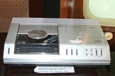 FIRST CD PLAYER: The Philips CD100 was released in August 1982