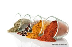 Have you ever looked at what's in the spice mixes you buy at the store? If the yuck bothers you, be sure to check out these homemade spice mixes!