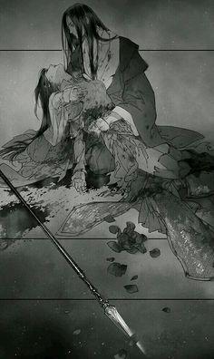 Ibuki Satsuki:Xu Feng and Sun Tuo Manga Love, Anime Love, Manga Art, Manga Anime, Character Inspiration, Character Art, Anime Couples Manga, Foto Art, Couple Art