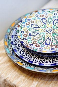Gorgeous plates