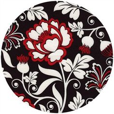 Alice Kennedy, Nouveau Rouge, Floral Red