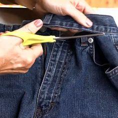 DIY! How Do You Turn Old Jeans Into A Garden Apron? cheap-and-easy-garden-ideas