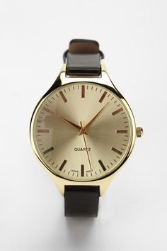 Urban Outfitters classic menswear watch