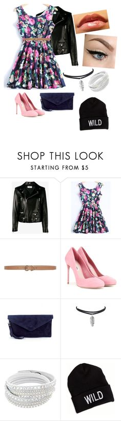 """""""Skater/fashion girl"""" by maria-eugenia-i on Polyvore featuring Yves Saint Laurent, Max Studio, Miu Miu and American Eagle Outfitters"""