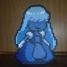 Sapphire - Steven Universe perler beads by ELoisa Gonzalez