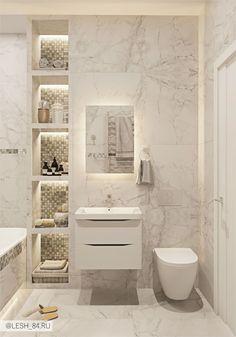 Bathroom with marble tiles in bright colors, bathroom with marble tiles in bright colors. - tile Badezimmer mit Marmorfliesen in hellen Farben, Badezimmer mit Marmorfliesen in hellen Farben. – Bathroom with marble tiles in bright colors, … - Bathroom Design Luxury, Bathroom Layout, Modern Bathroom Design, Bathroom Colors, Small Bathroom, Bathroom Marble, Light Grey Bathrooms, Washroom Design, Silver Bathroom