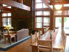 Canyon View Lodge Rustic Dining Room