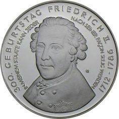10 Euro Silber Friedrich der Große PP