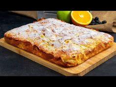 Gata în doi timpi și trei mișcări! Un adevărat răsfăț este această prăjitură de casă cu mere - YouTube Gateaux Vegan, No Cook Desserts, Bruschetta, Banana Bread, Biscotti, French Toast, Food And Drink, Pizza, Sweets